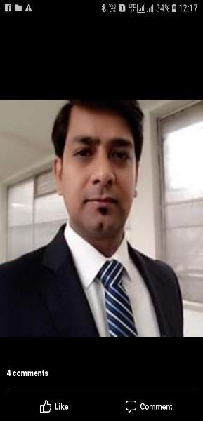 Amrapali alumni - Mr. Kshitiz Kumar