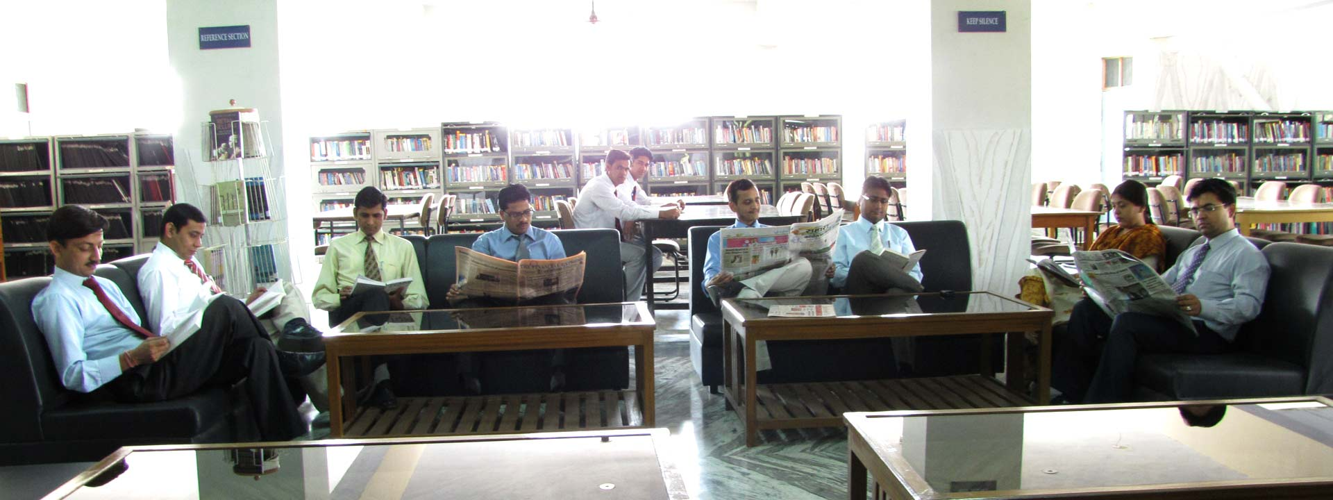 Over 80,000 books, periodicals, international journals and other research material